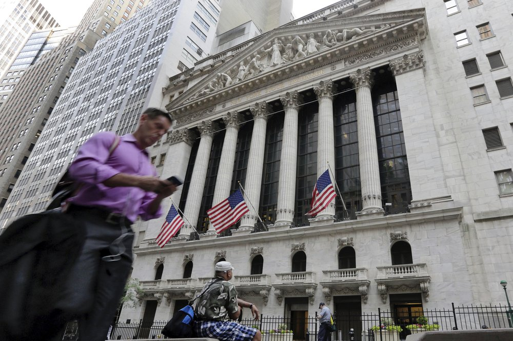 US stocks jump after two days of sharp losses; tech leads