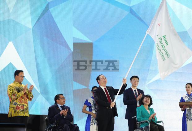 China top medal table at Asian Para Games