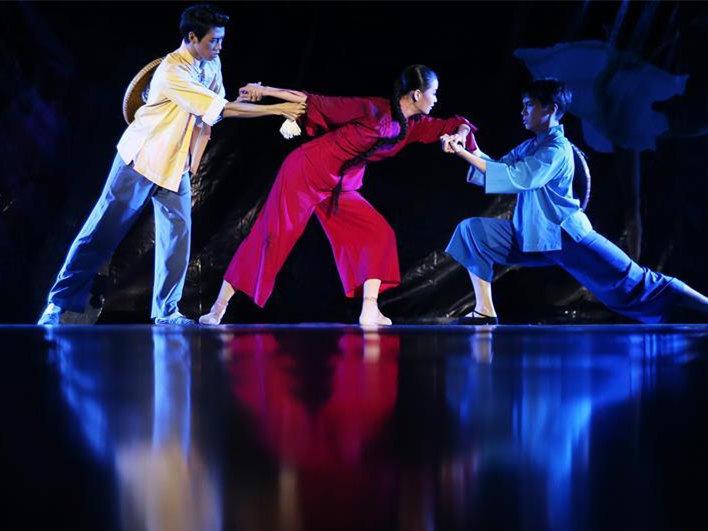 Ballet art activity held at university in China's Hunan