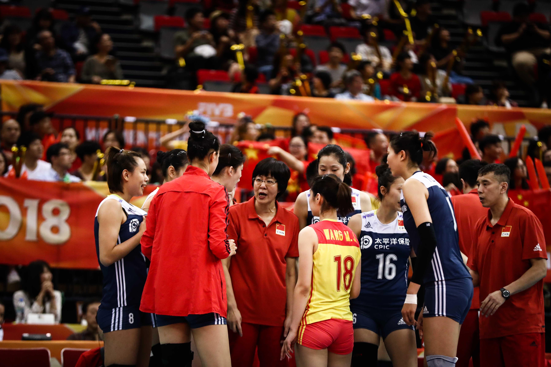 China edge United States 3-2 at women's volleyball worlds