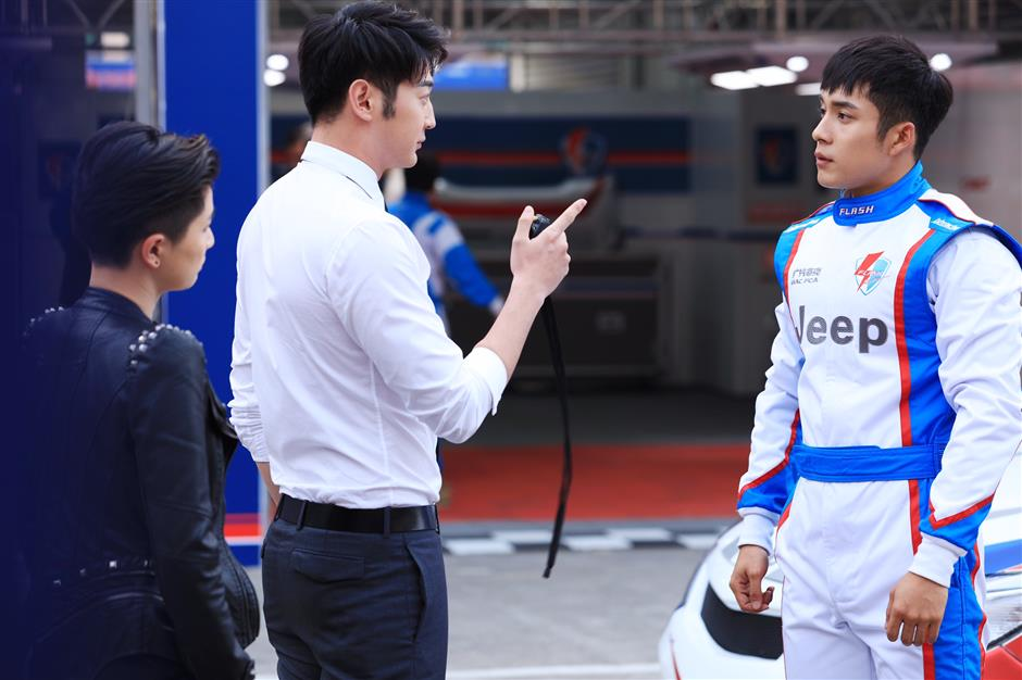 Youth drama about car racing hits TV screens