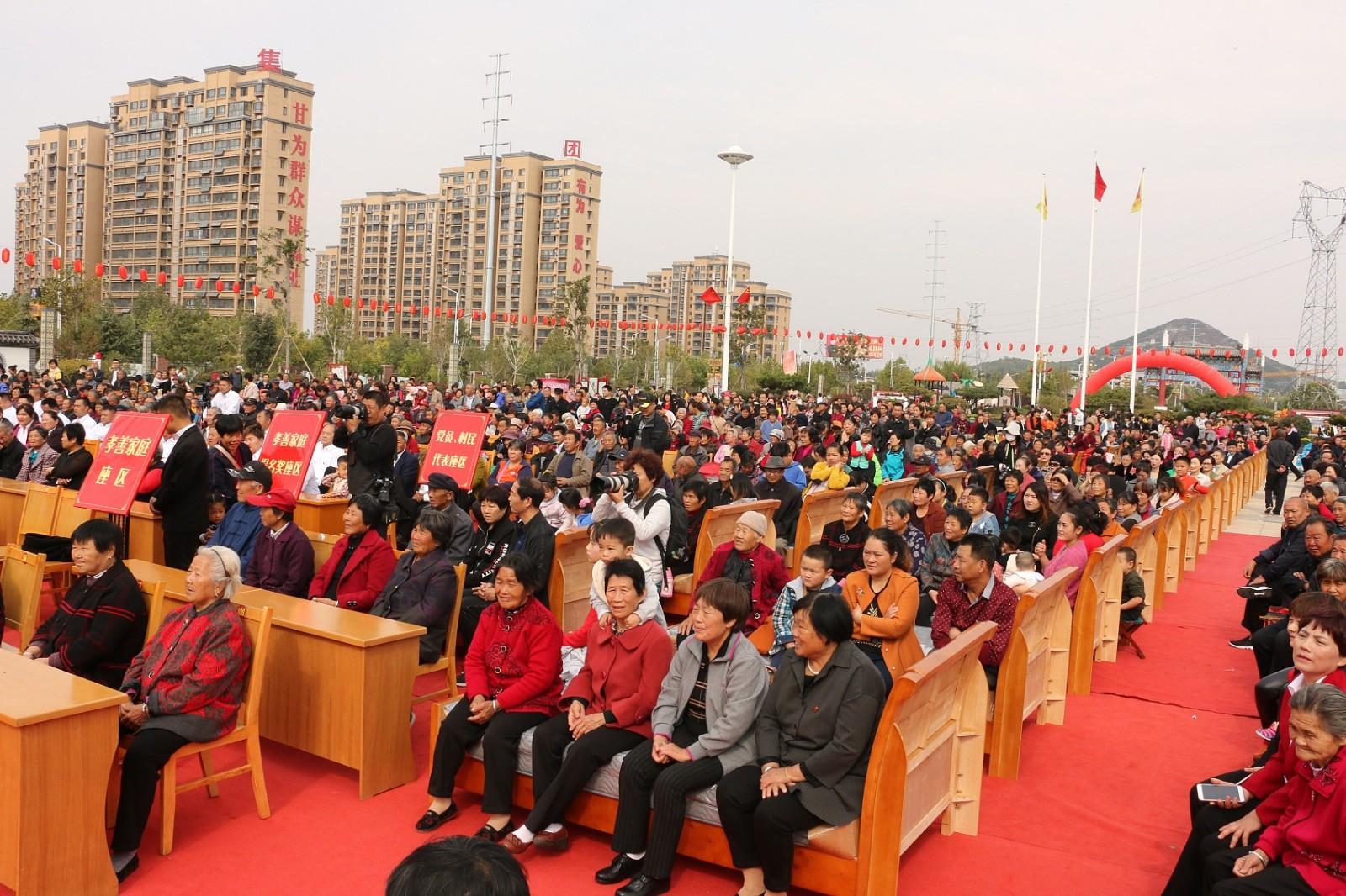 Elderly in Shandong village receive 500 free beds