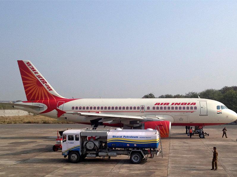 Air hostess falls off passenger plane in India's Mumbai