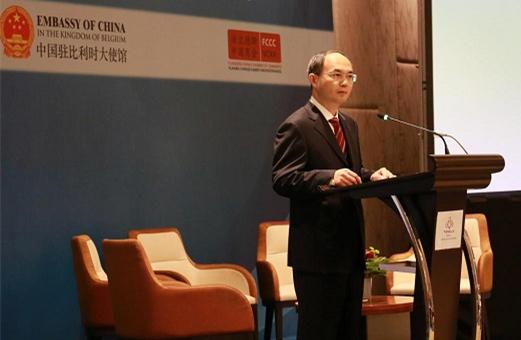 Interview: Chinese ambassador says Sino-Belgian ties flourishing