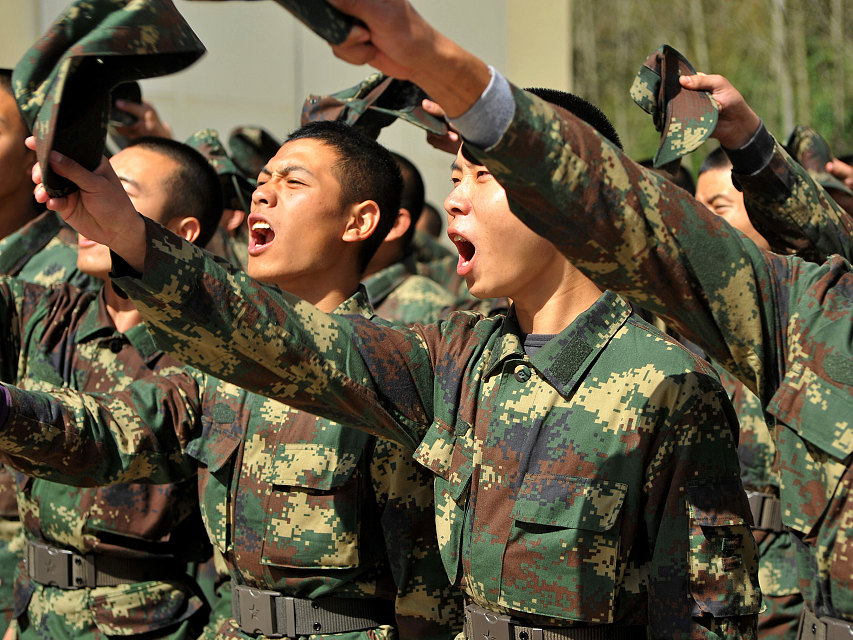 Chinese military issues circular on civilian personnel recruitment interview