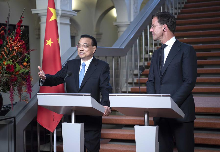 China, Netherlands to jointly address climate change, ageing population