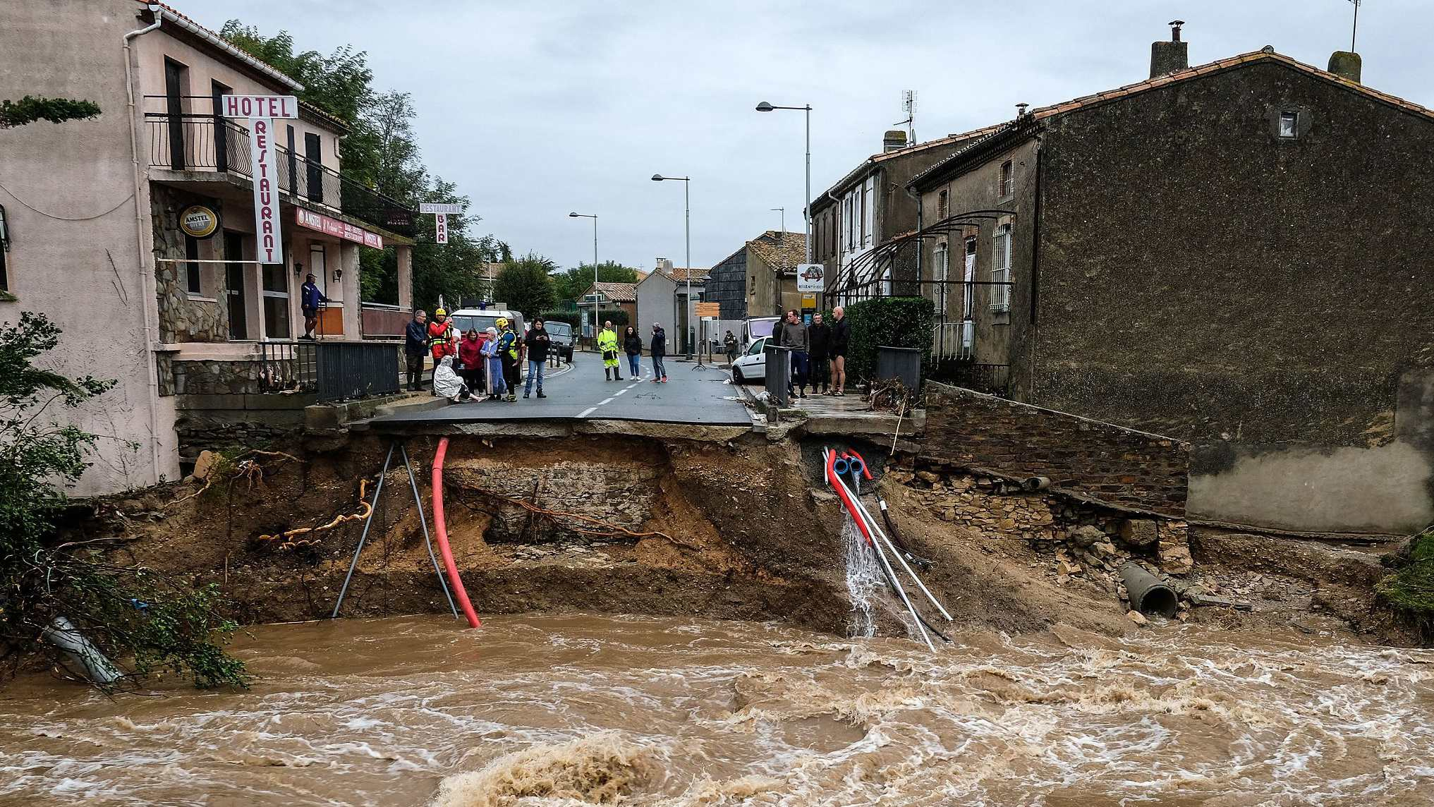 At least 13 killed by flash floods in SW France