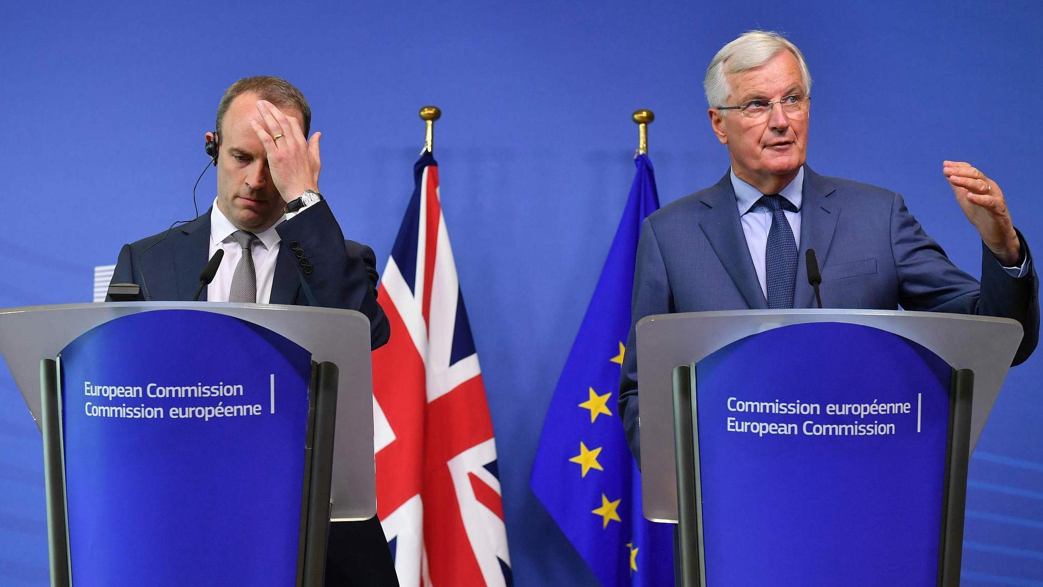 Brexit talks stall before midweek EU summit