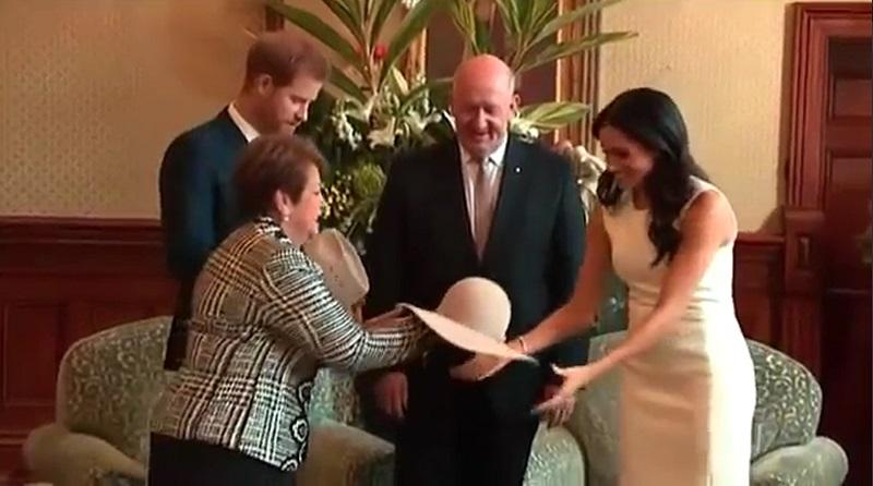Prince Harry, Meghan get baby gifts in Australia