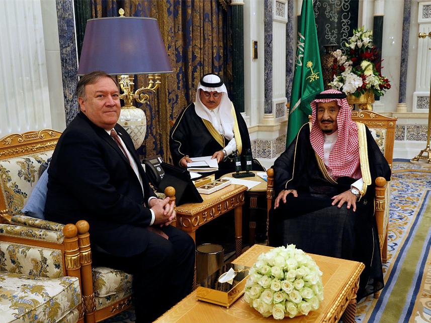 Pompeo arrives Riyadh over Saudi journalist disappearance