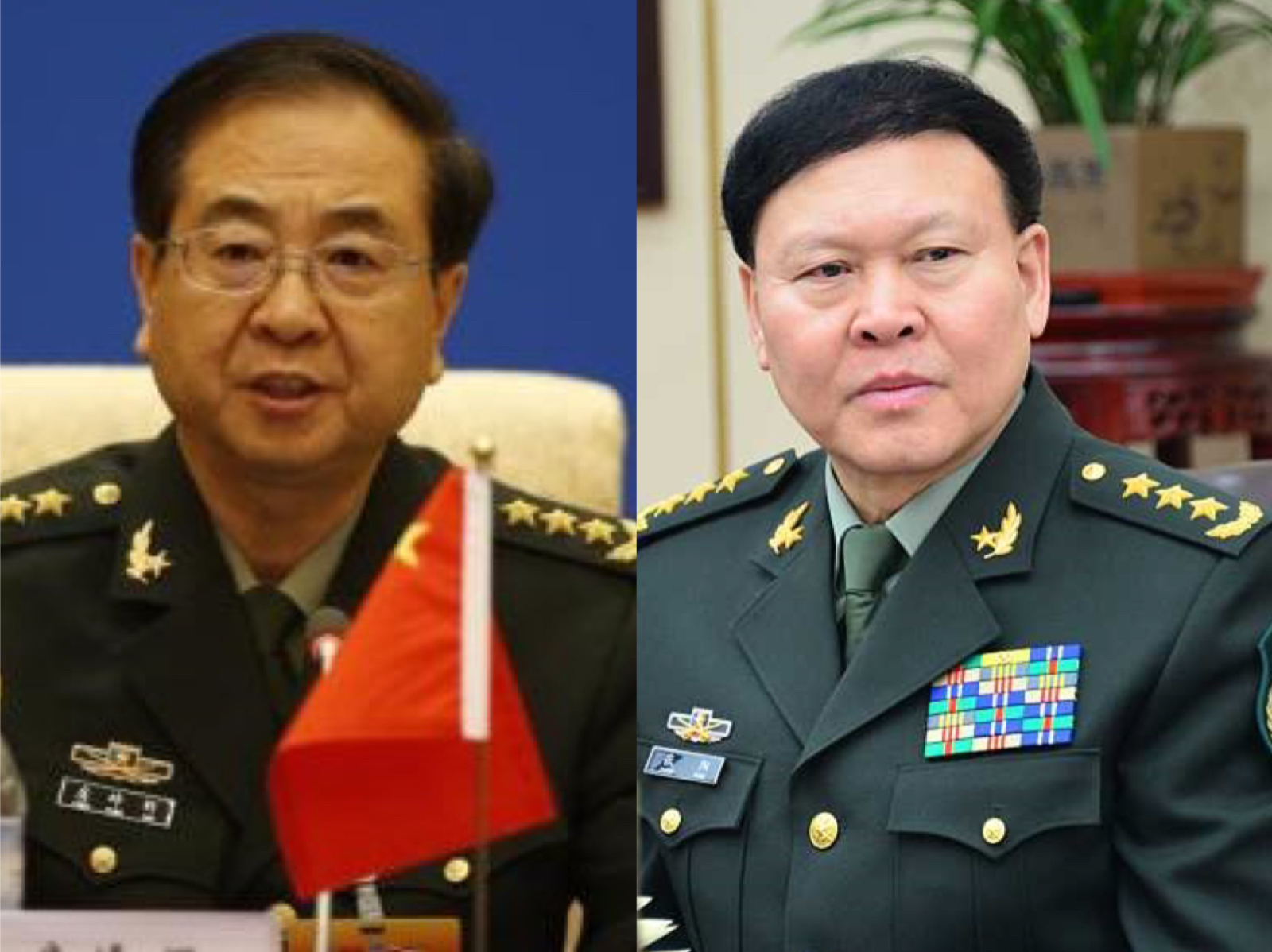 Fang Fenghui and Zhang Yang expelled from the CPC