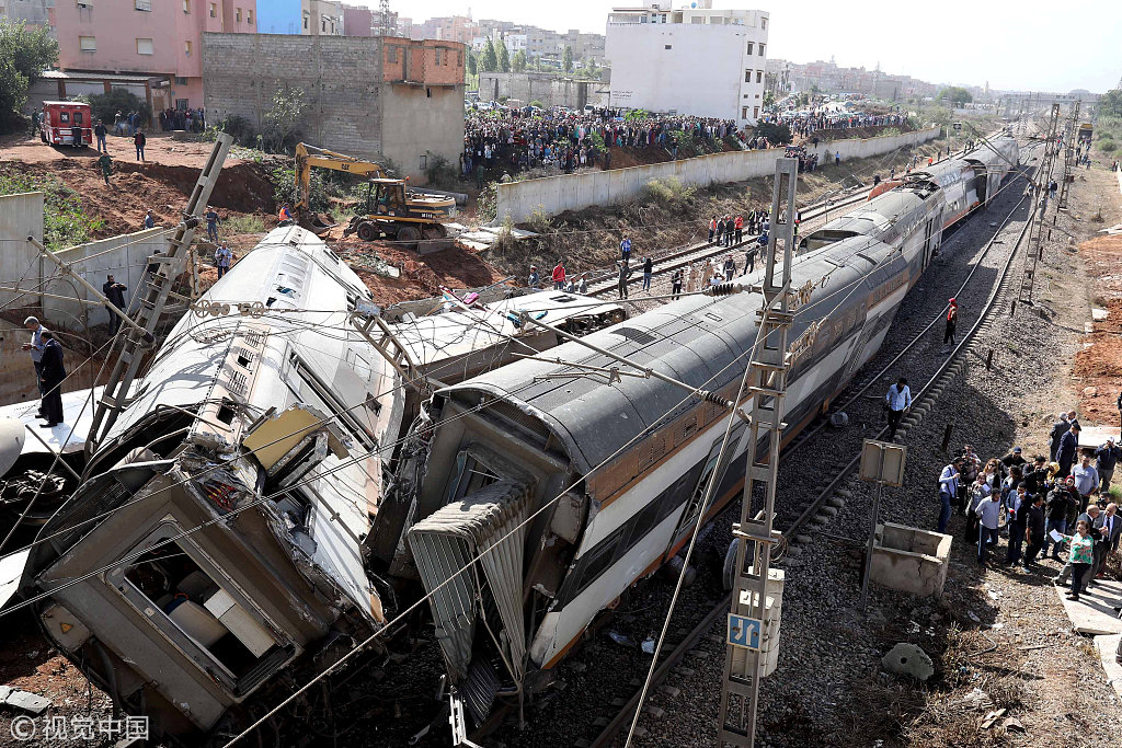 At least six dead in Morocco train crash: railway official