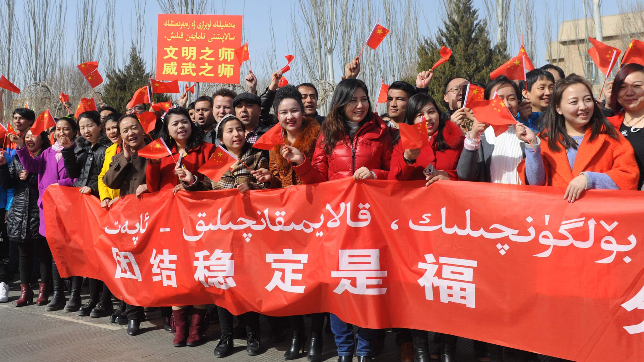 Xinjiang governor: Vocational education program is terrorism prevention