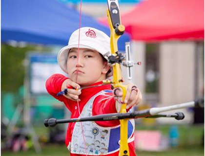 China's Zhang wins archery gold at Youth Olympics