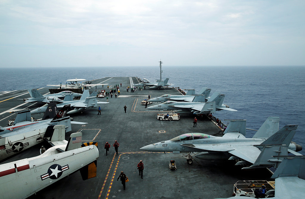 China advises US to 'act cautiously' in the Taiwan Straits