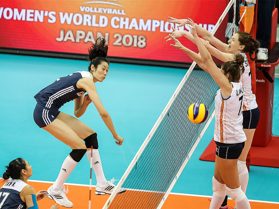 China cruise past Netherlands at Volleyball Women's World Championship