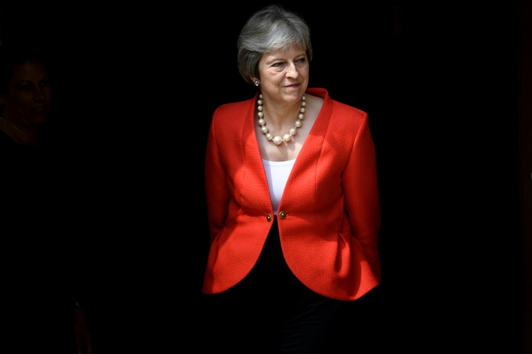 Britain's May confronts EU leaders amid Brexit crisis