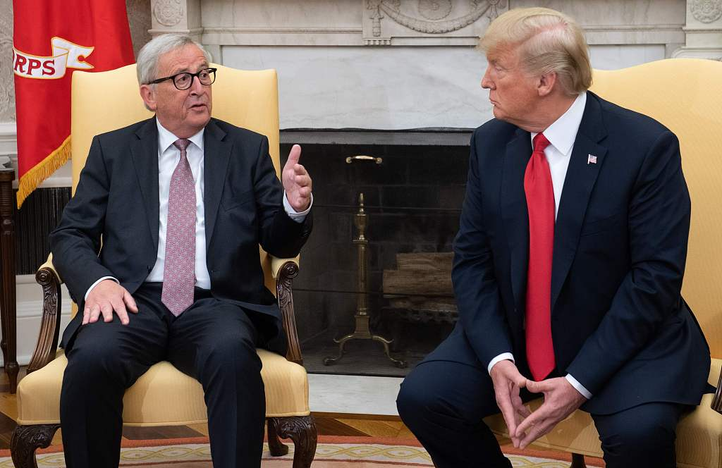 US to negotiate trade deals with EU, Japan, UK