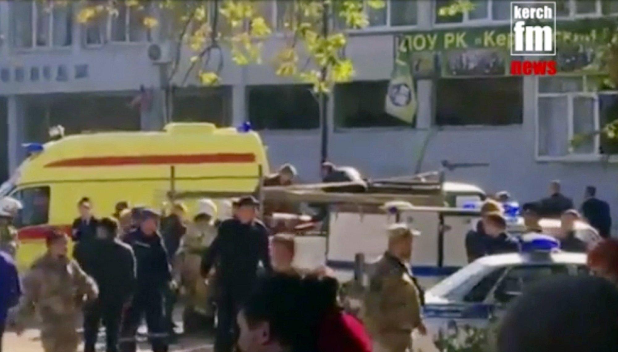 Russia: Student gunman kills 17, wounds 40 in Crimea