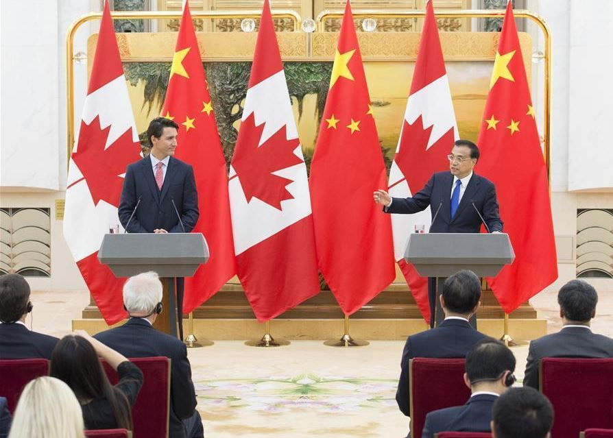 China eyes closer trade relations with Canada