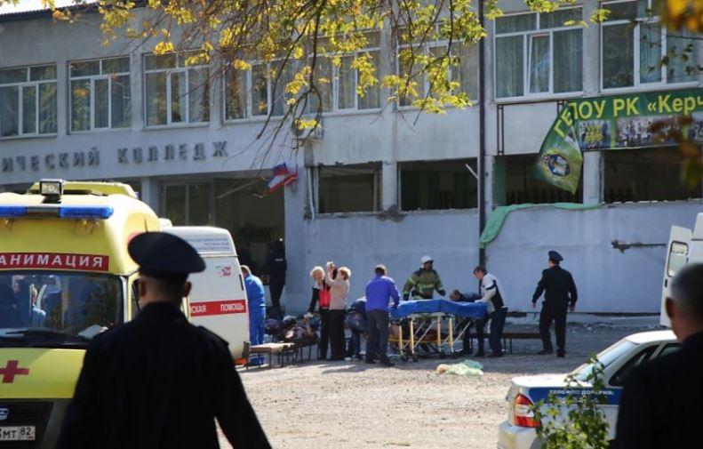 Crimea school shooting leaves at least 19 dead, 50 injured
