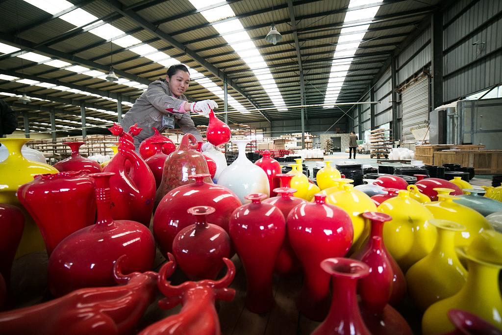 Pottery helps poverty relief in Bijie, Guizhou