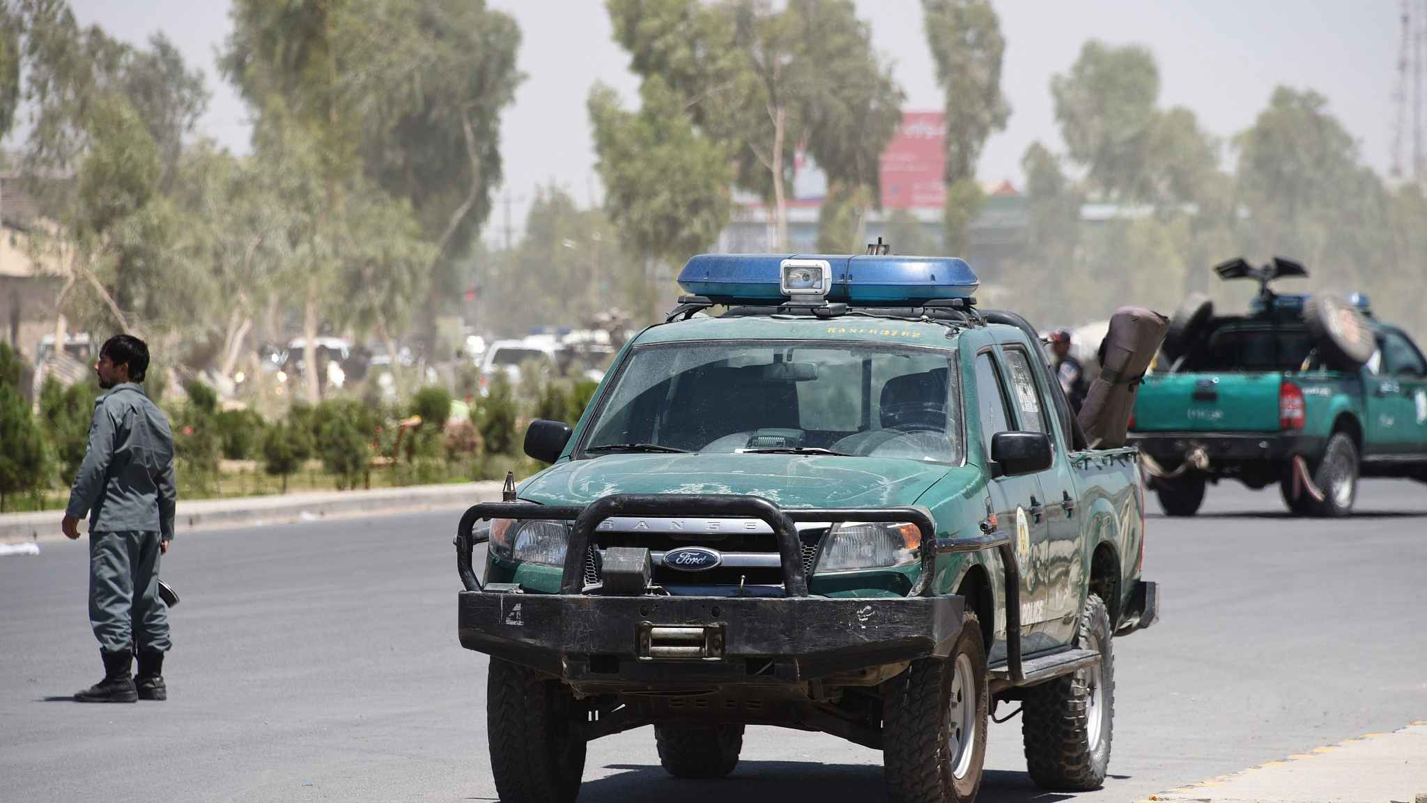 3 top Afghan provincial officials killed in shooting