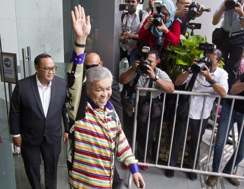 Former Malaysian deputy PM Zahid detained by anti-corruption body