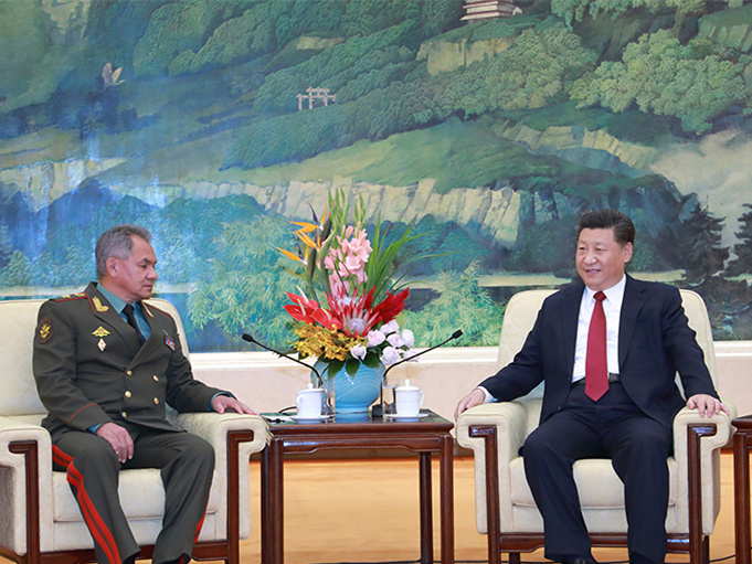 Xi meets with Russian defense minister