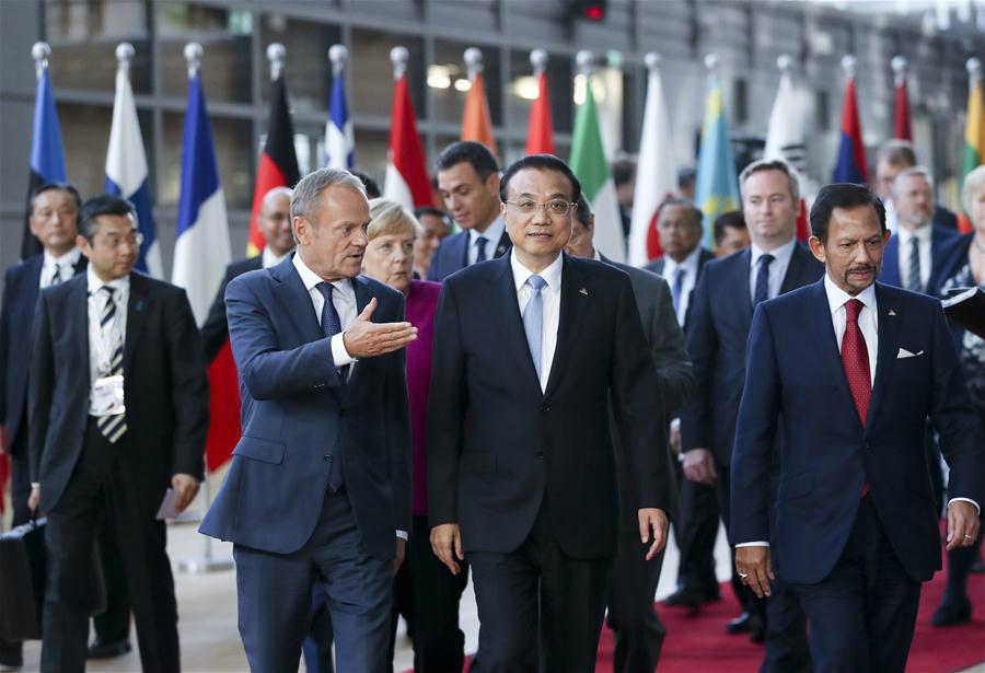 Li calls on China, EU to safeguard multilateralism, free trade system