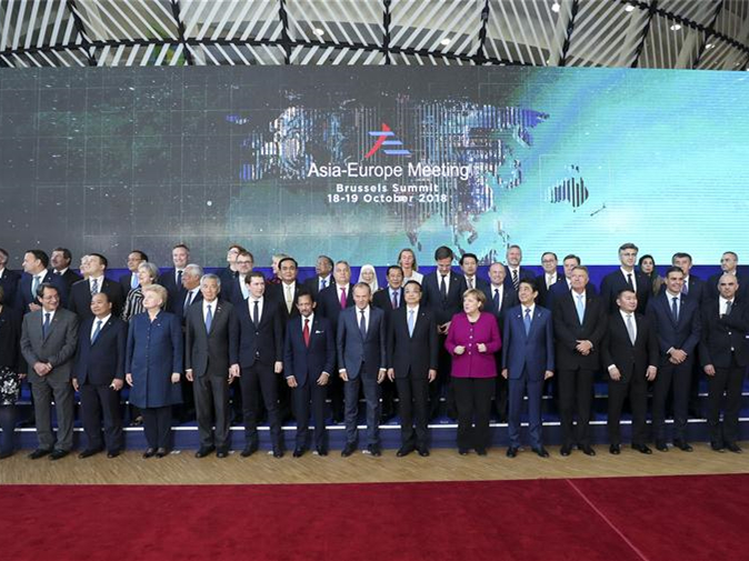 Why have the ties between Asia and Europe grown stronger?