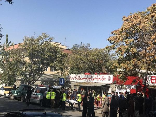 At least 37 injured in Afghan capital blasts