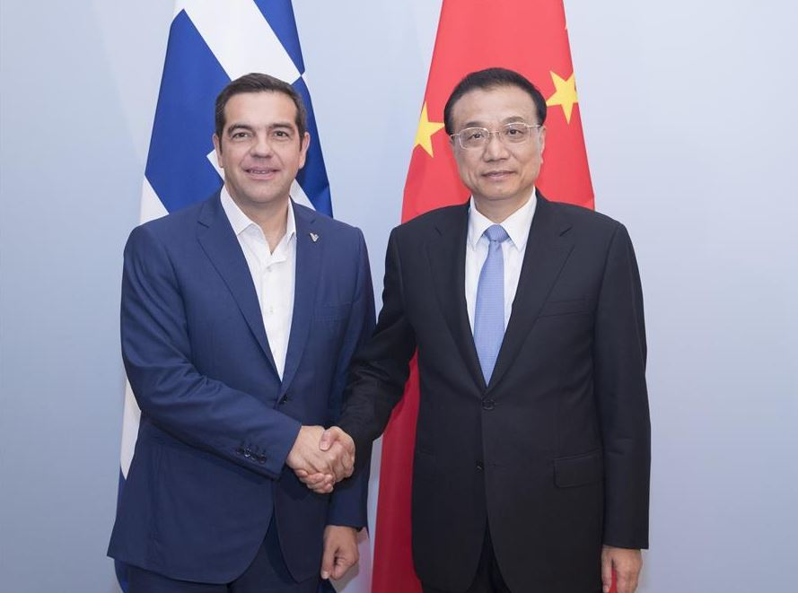Chinese premier pledges joint efforts with Greece to promote practical cooperation