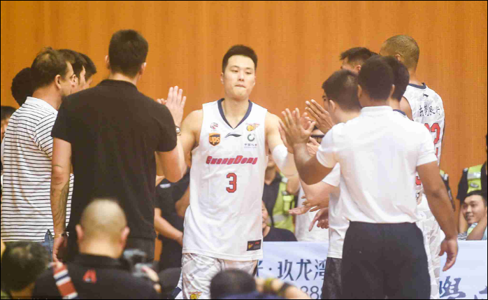 Guangdong aim at the first title in six years in CBA season 2018-19
