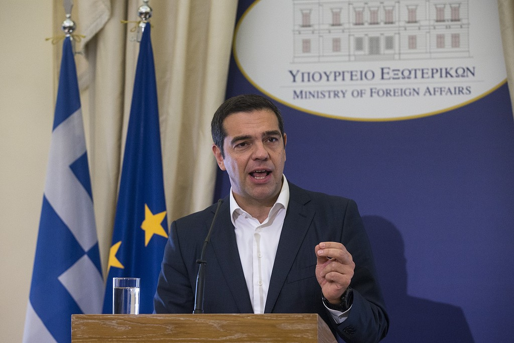 Greek PM sworn in as Greece's foreign minister