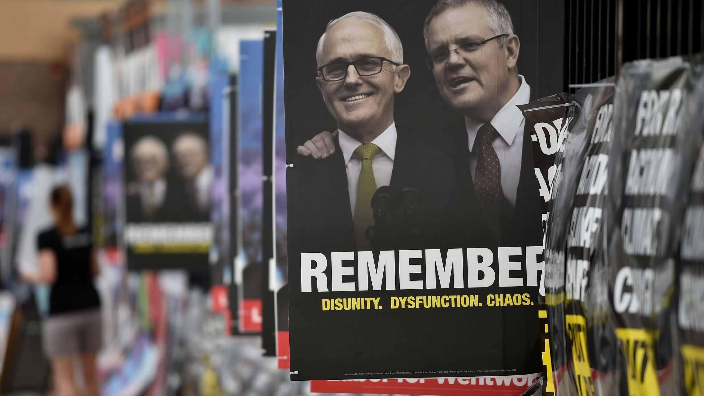 Australian gov't loses majority in key by-election
