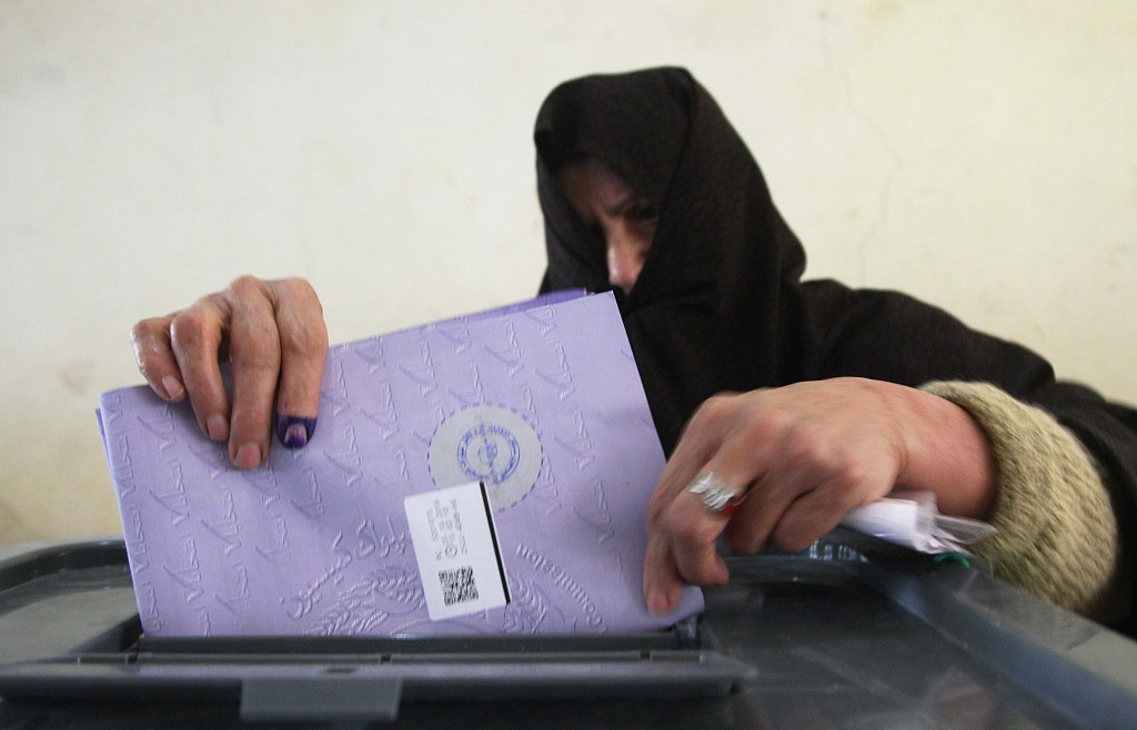 Over 3 million Afghans cast ballots in parliamentary polls