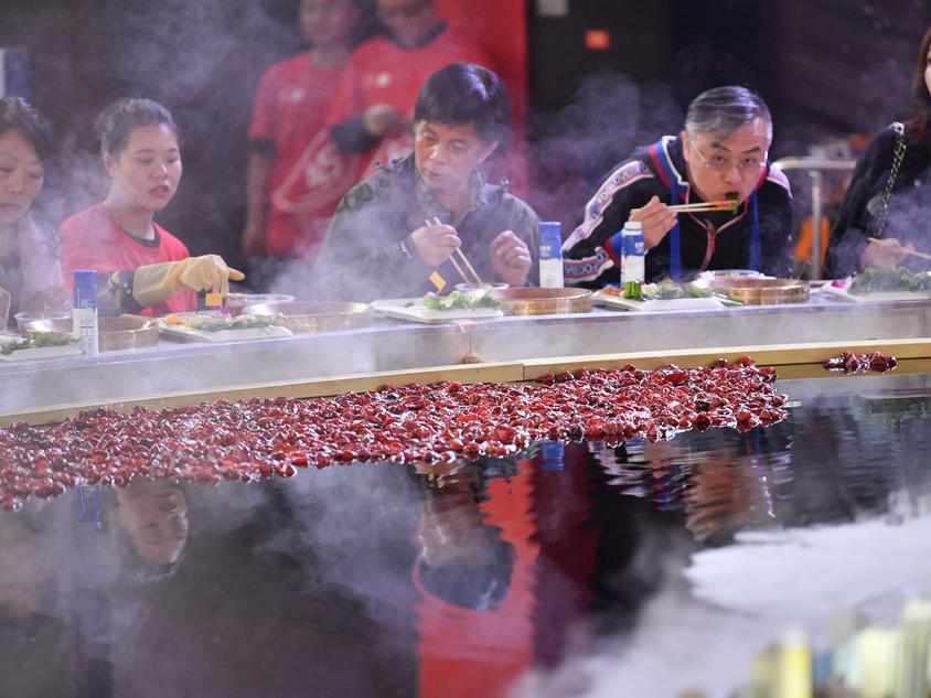 Hotpot Cuisine Culture Festival held in Chongqing