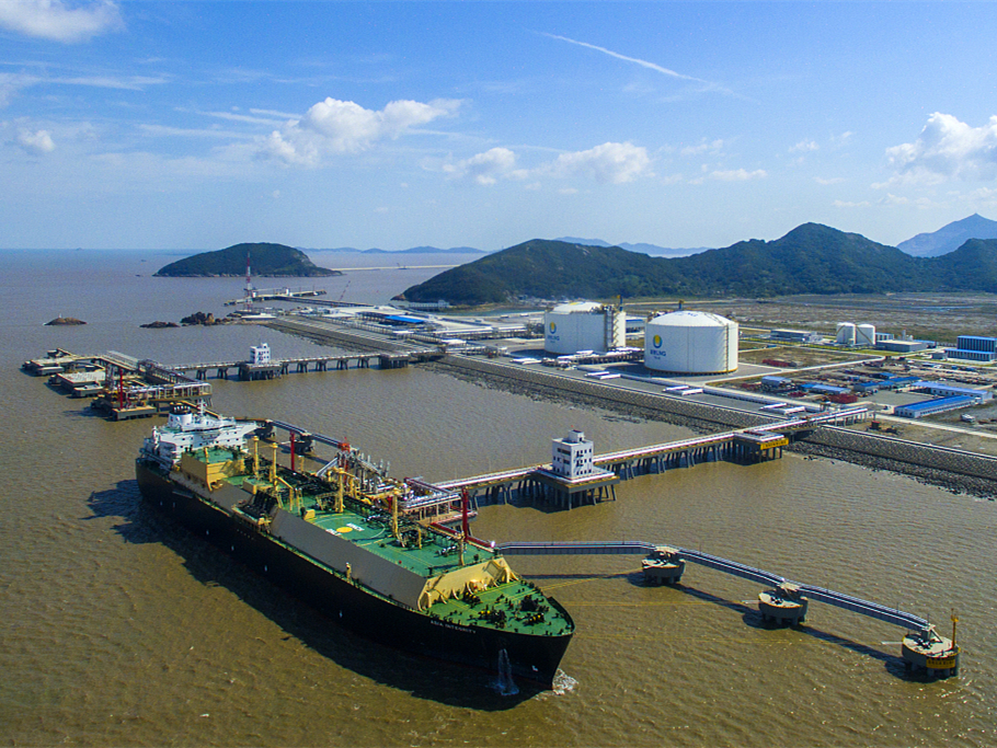 China natural gas imports up 28.3 pct in September