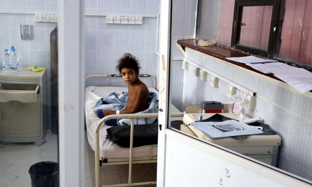 Plagued by cholera, hunger, now diphtheria strangles more children in war-ravaged Yemen