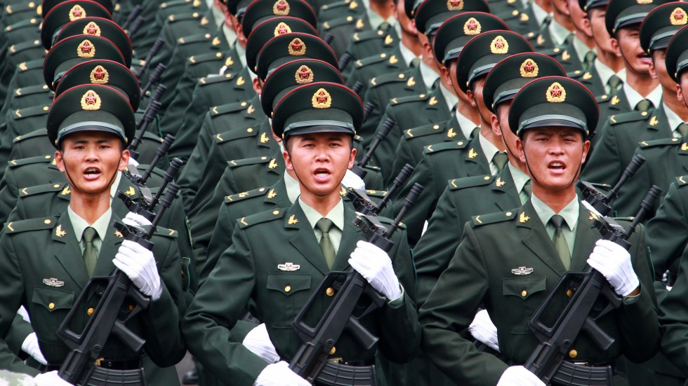 Chinese military taking strides toward mighty force