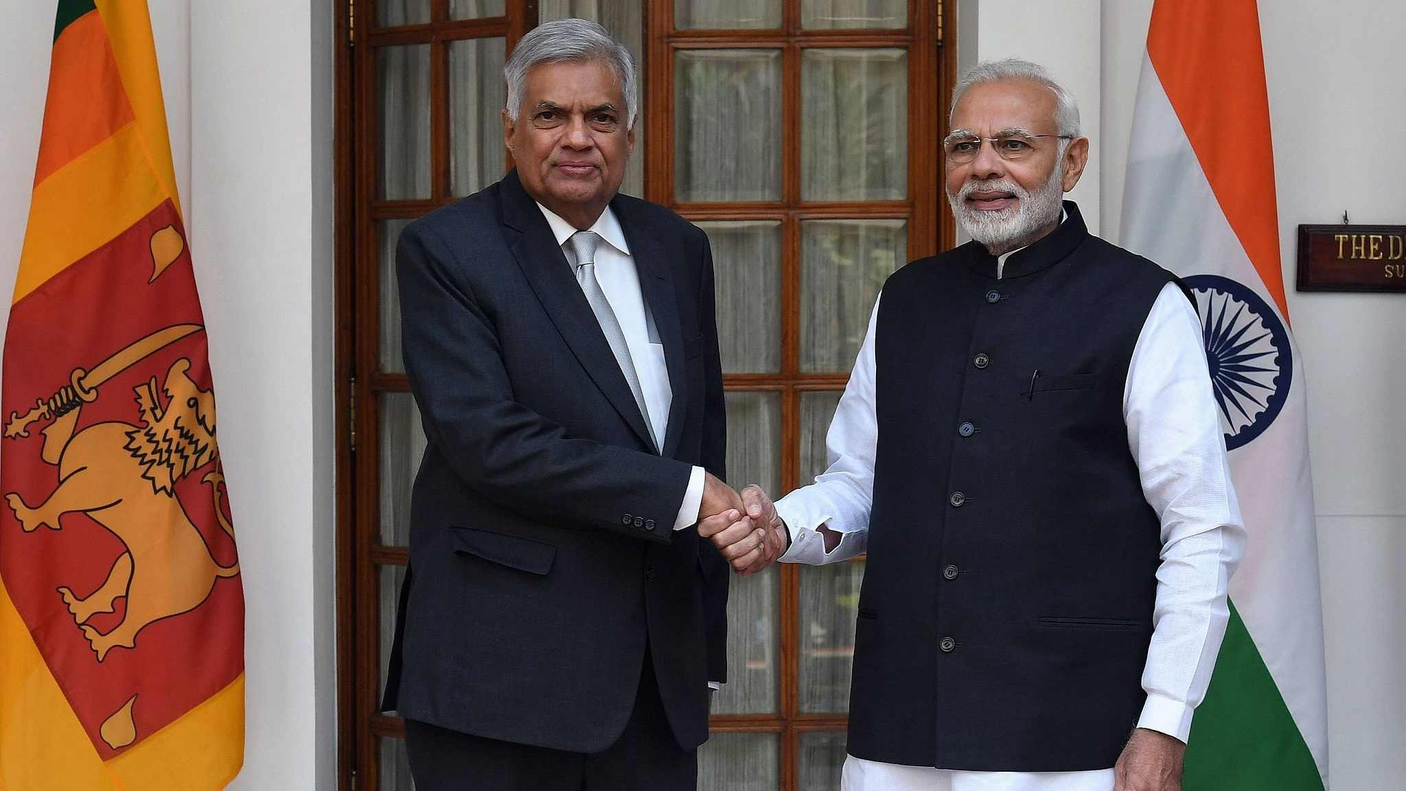 Wickremesinghe, Modi hold talks on bilateral ties