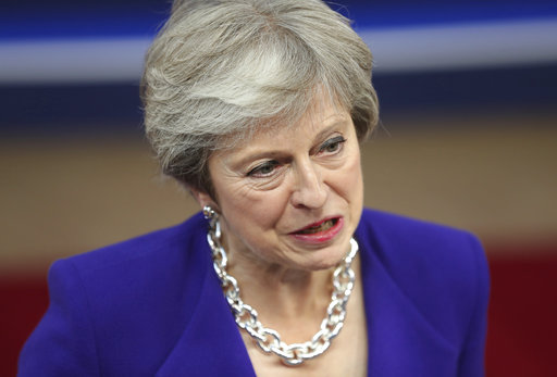 May to say Brexit '95 percent' settled as MP mutiny fears rise