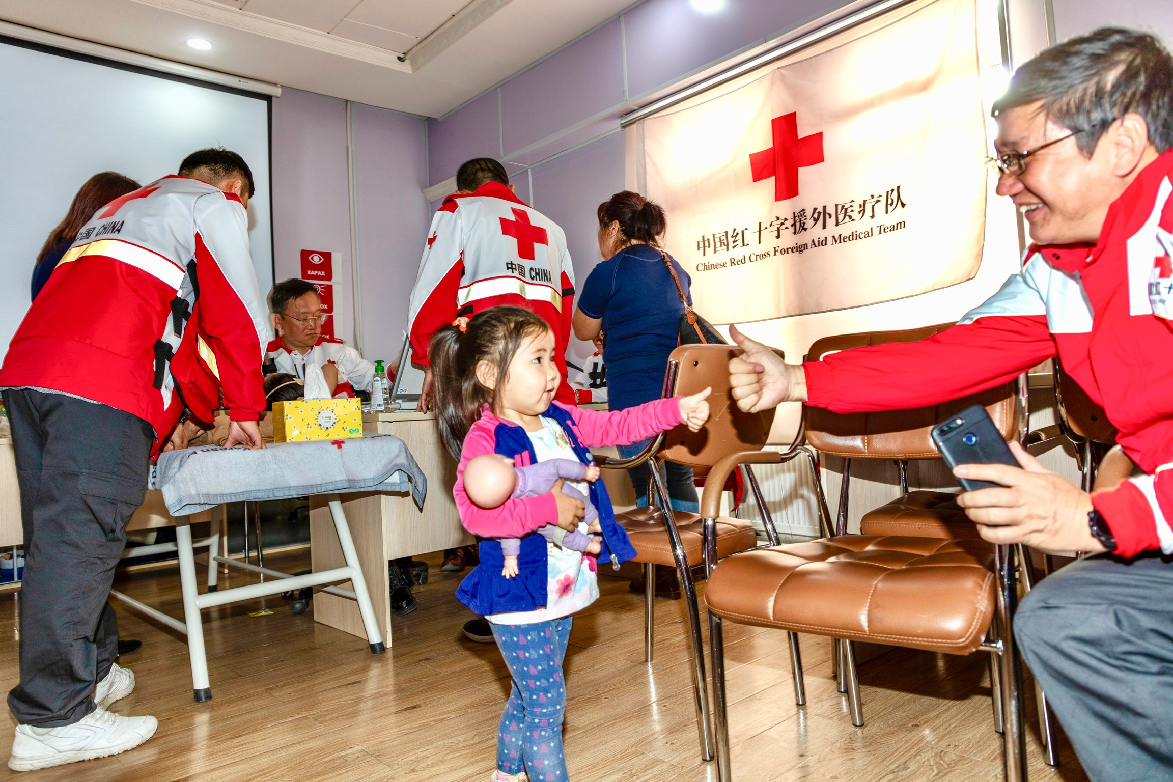 Chinese Red Cross foreign aid medical team launches 2nd humanitarian rescue in Mongolia