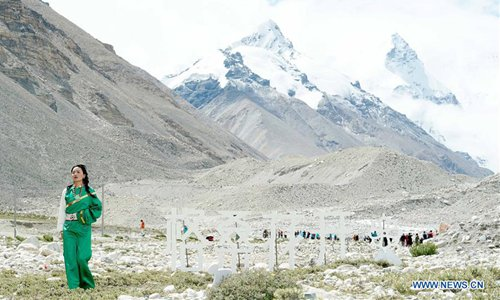 Eco-unfriendly vehicles banned from base camp of world's highest peak