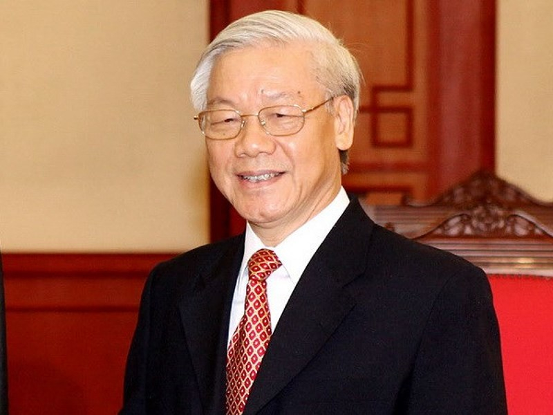 Vietnamese party chief elected as Vietnam President