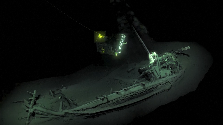 World's 'oldest intact shipwreck' found in Black Sea