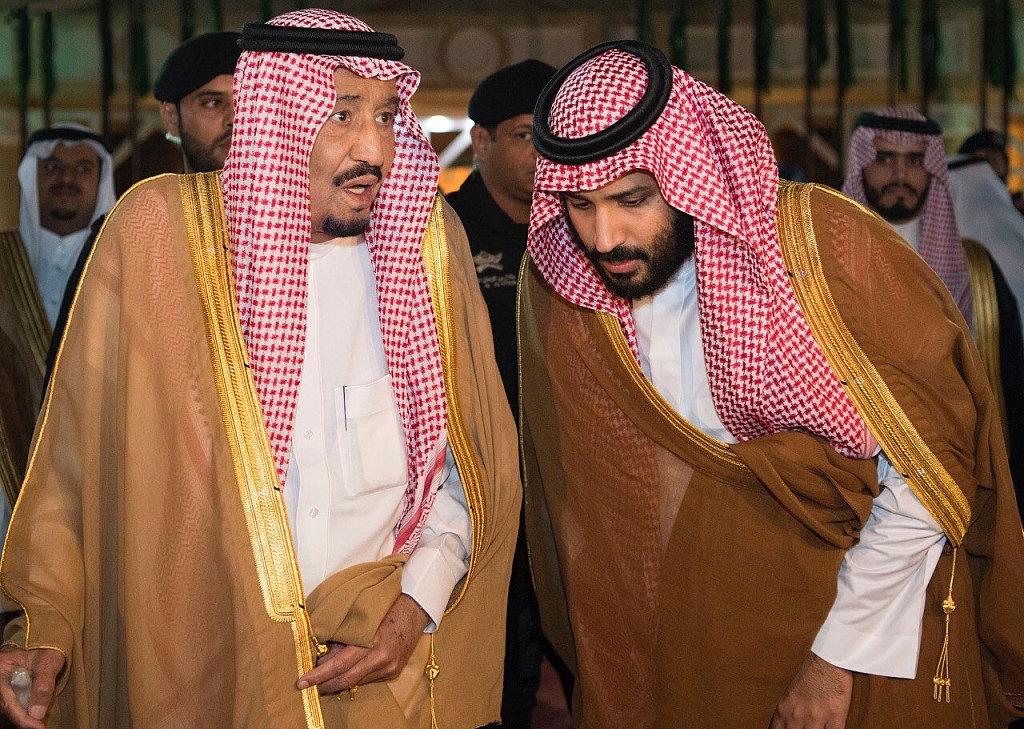 Saudi king, crown prince meet slain journalist Khashoggi's family