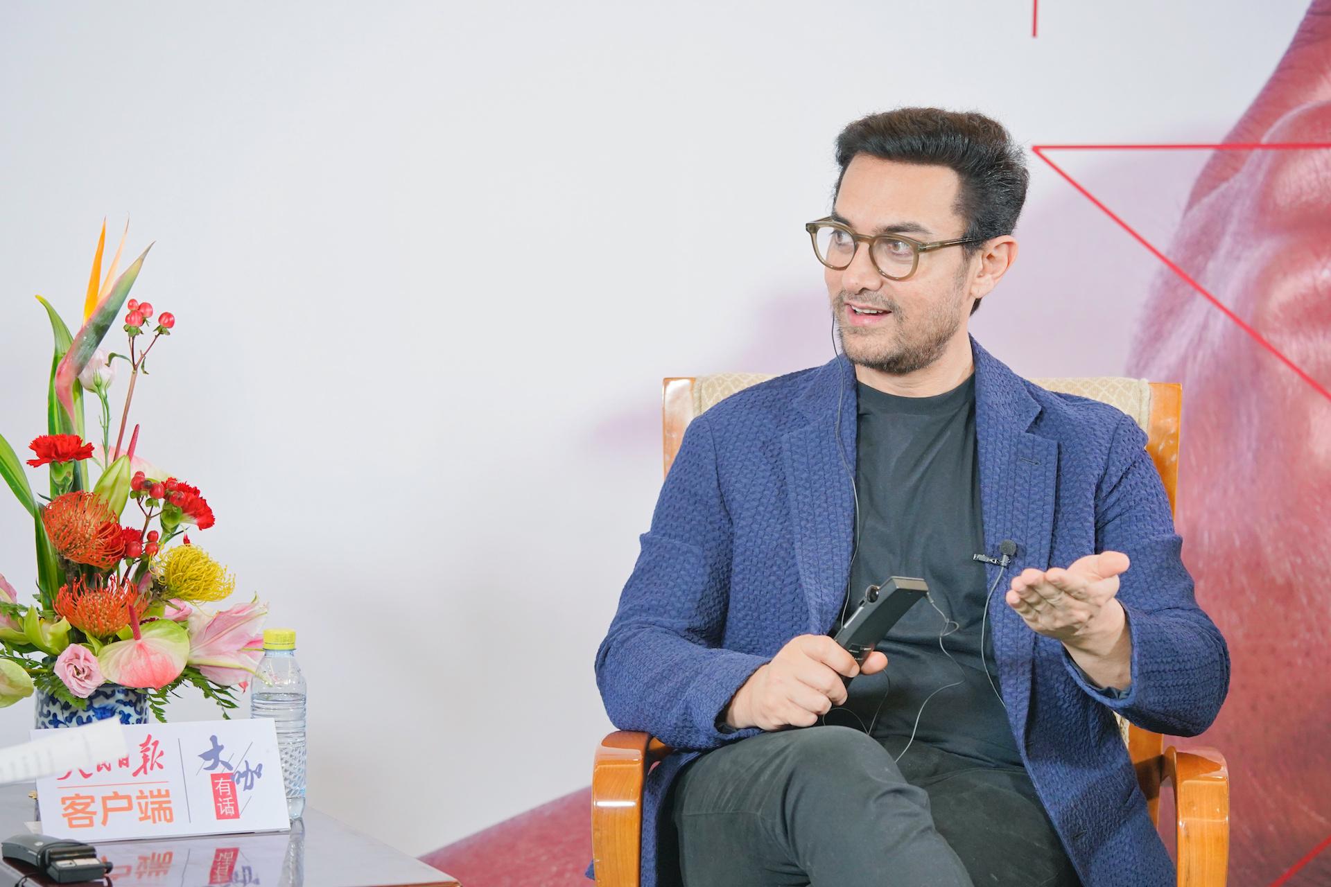Video | Aamir Khan: 'Films bring people together'
