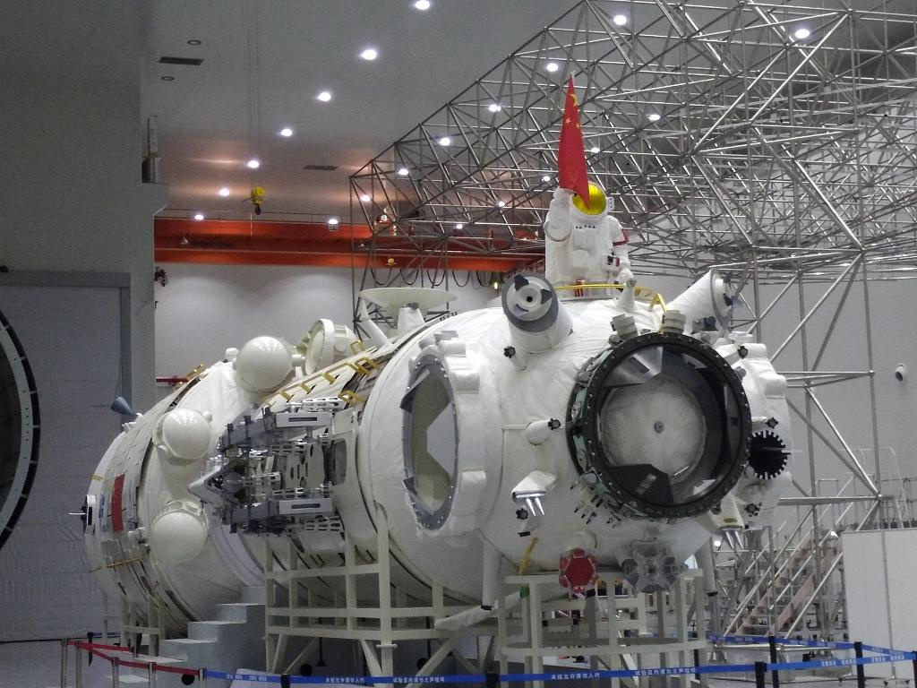 Prototype of China's space station to be unveiled next month